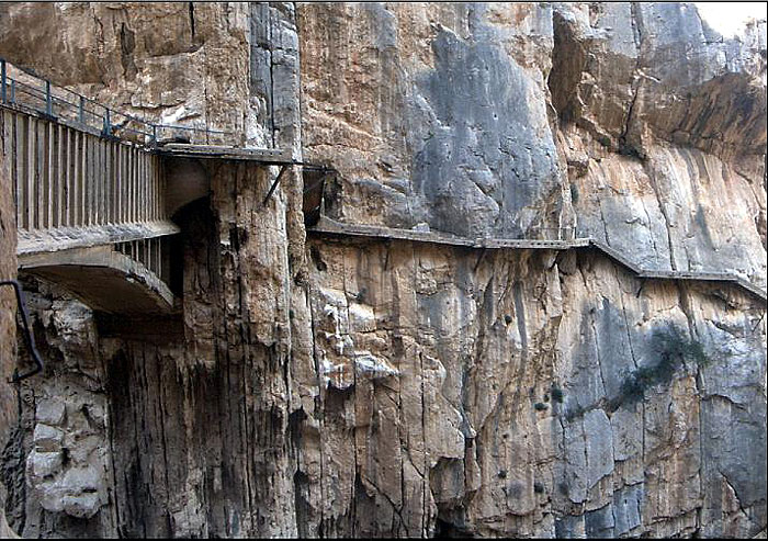 El Caminito del Rey - The Kings Path - El Chorro