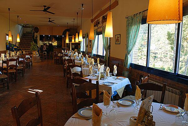Restaurant - Hotel la Garganta - El Chorro