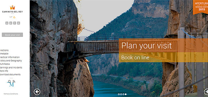 Reserve your trip to Caminito del Rey