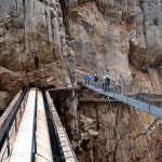 caminito del rey suspension bridge