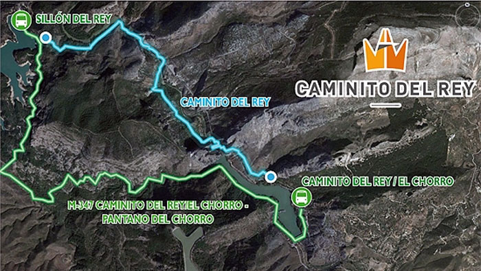 Bus services for the Caminito del Rey