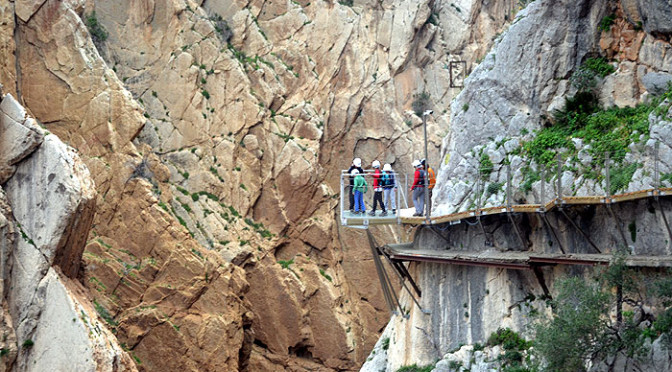 Walking the Caminito del Rey – Sat 11th April 2015