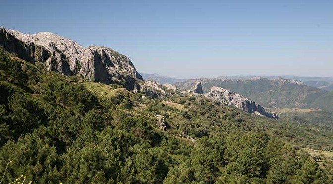 Guided and self guided walking in the Sierra de Grazalema