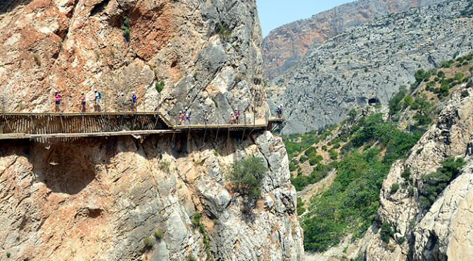 Caminito del Rey to remain free untill March 2016