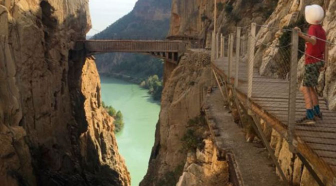 Steve Barham (The rambling man) writes about the Caminito del Rey