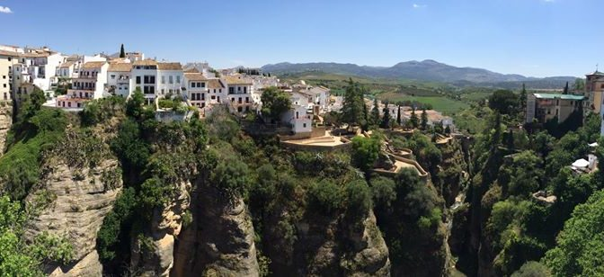 One Of The Most Beautiful Places To Visit In Andalusia Ronda Just On One Hour El Caminito