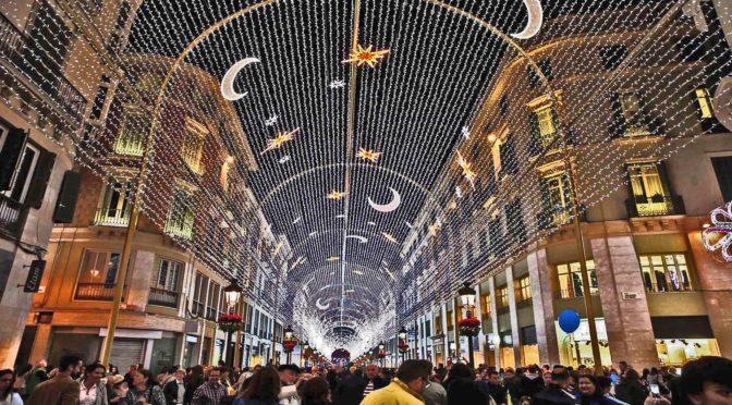 very nice zo mooimalaga christmas lights 2015 christmas arrived in the main el caminito del rey the kings path el chorro the guadalhorce