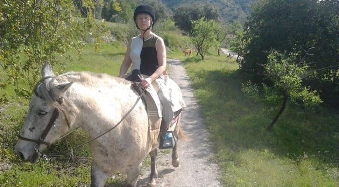 Great post by Horse Riding El Chorro of a guest staying here. Fantastic way to s…