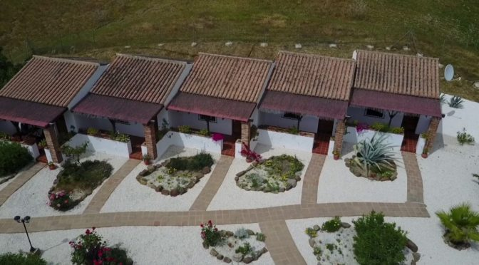 A visual tour of Cortijo Valverde from above!   of aerial footage of the beautif…
