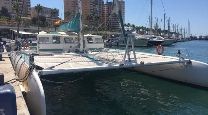 Fabulous catamaran trip today! Highly recommended. www.casa-sampo.com