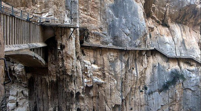 El Caminito del Rey – The Kings Path – El Chorro