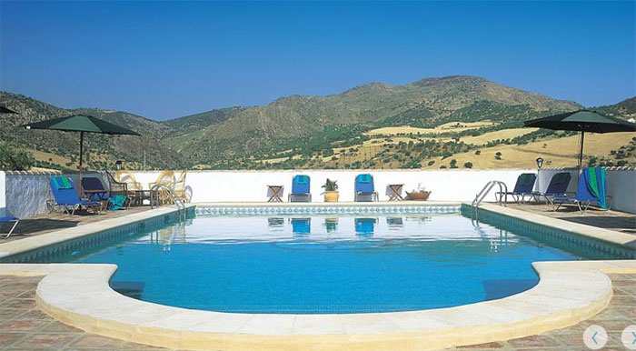 The swimming pool with panoramic views
