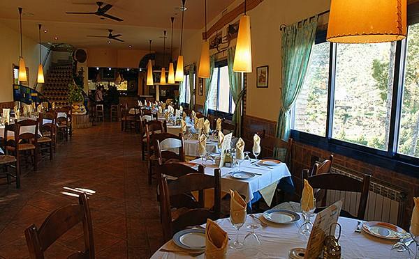 Restaurant – Hotel la Garganta – El Chorro