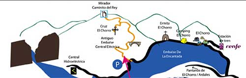 Mirador - Viewpoint for the Camino del Rey