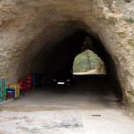 The tunnel by Kiosko bar
